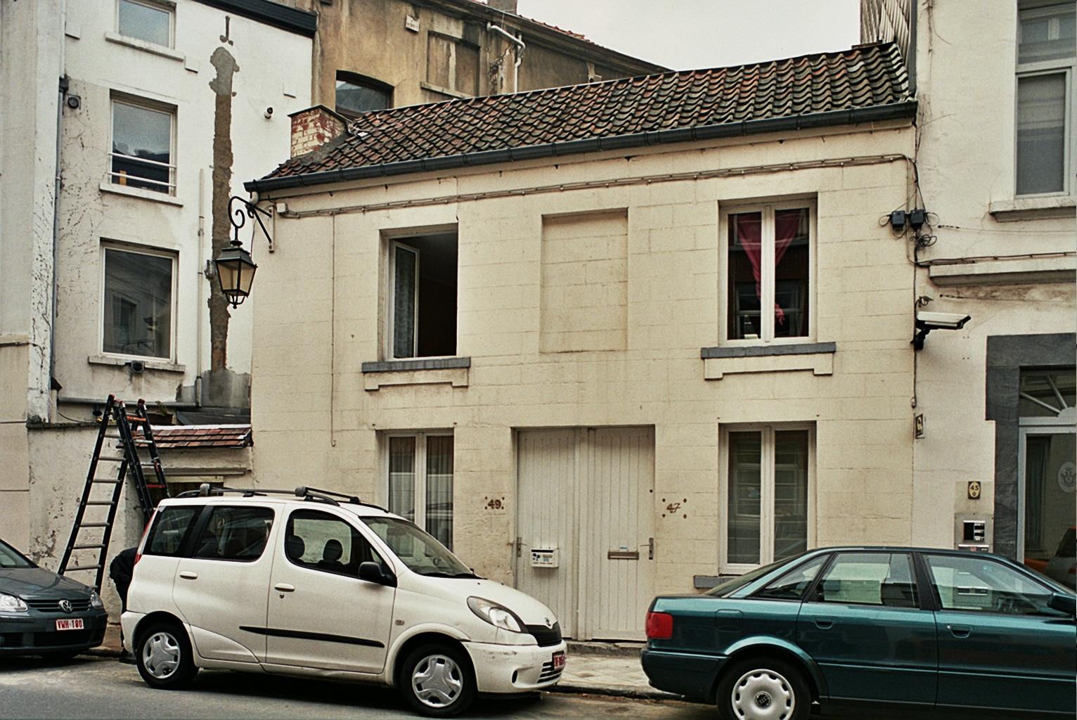 Rue Souveraine 49-47., 2009