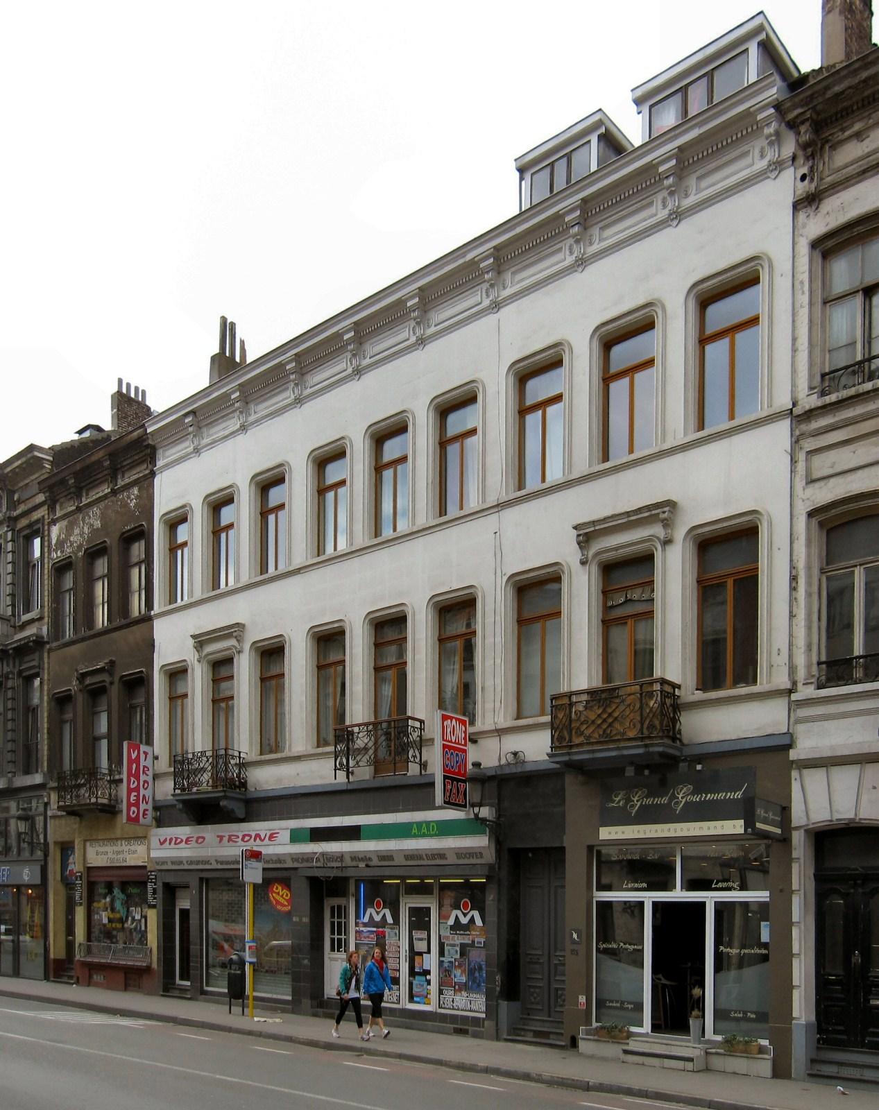 Rue du Trône 159 à 153., 2010
