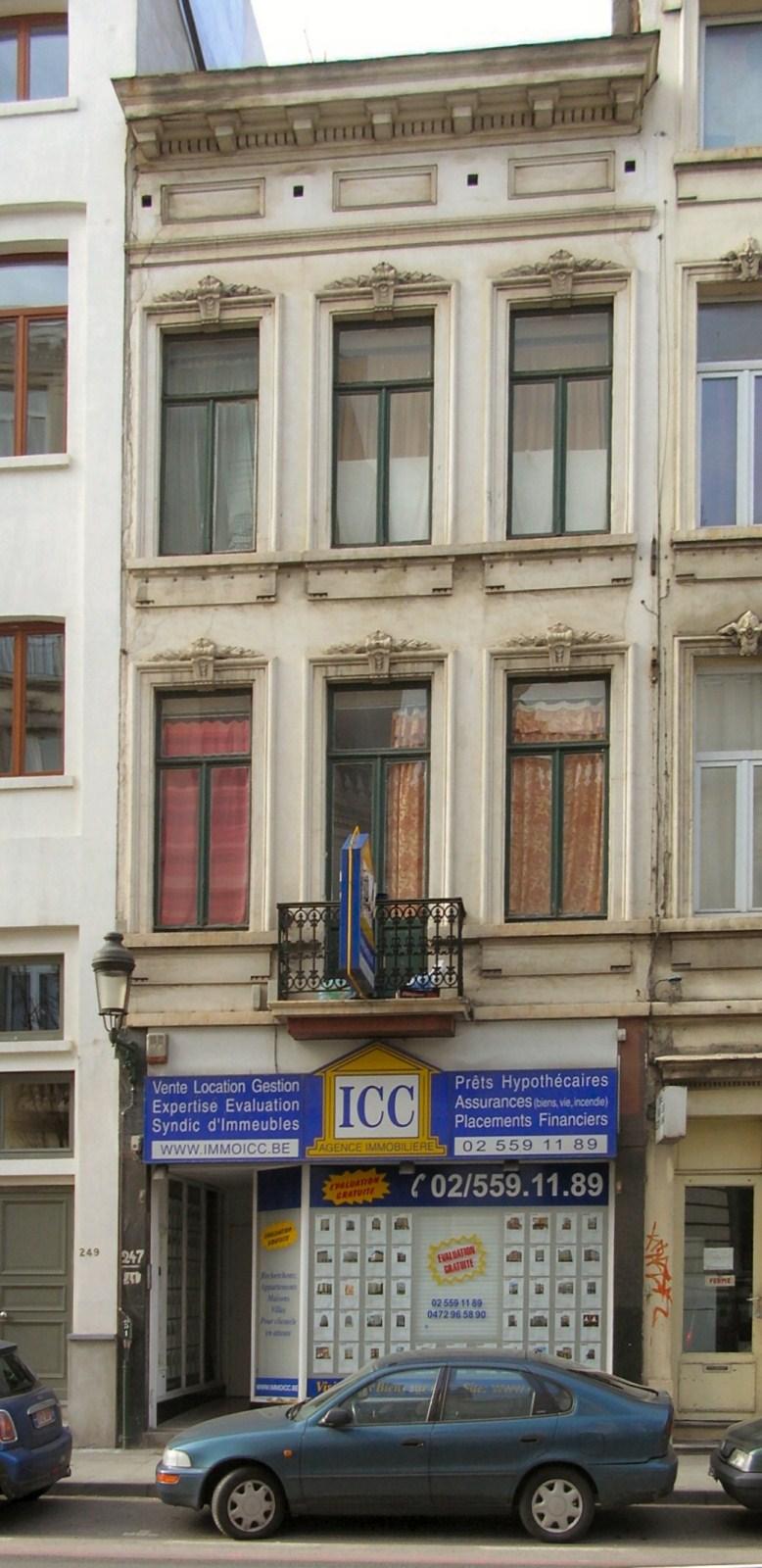 Rue du Trône 247., 2009
