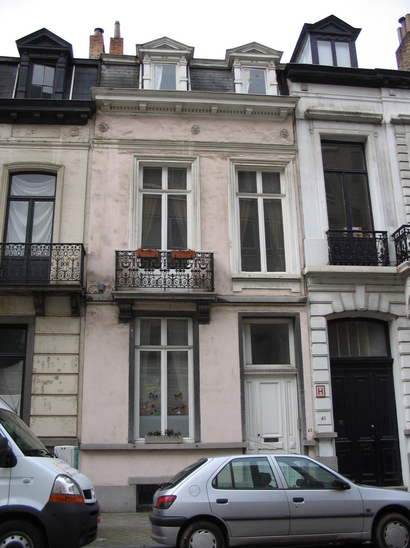 Rue Van Eyck 43., 2005