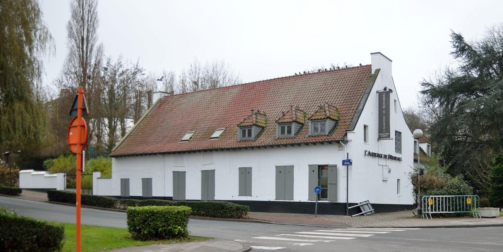 Square du Vieux Tilleul 12, L'auberge de Boondael, vers la chaussée de Boitsfort, 2014