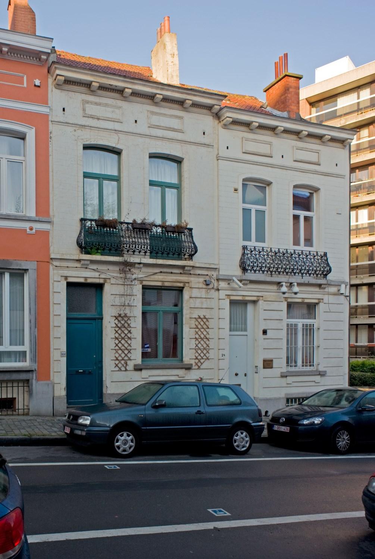 Rue du Vivier 22 et 24, 2012