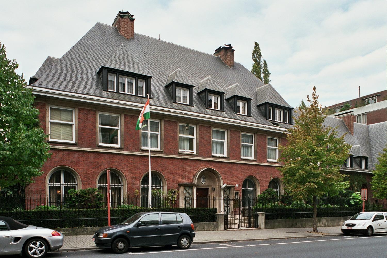 Chaussée de Vleurgat 215-217, Ambassade de l'Inde., 2005