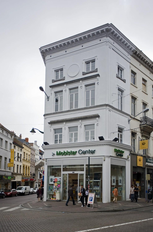 Chaussée de Wavre 1, façade vers la chaussée d'Ixelles, 2010