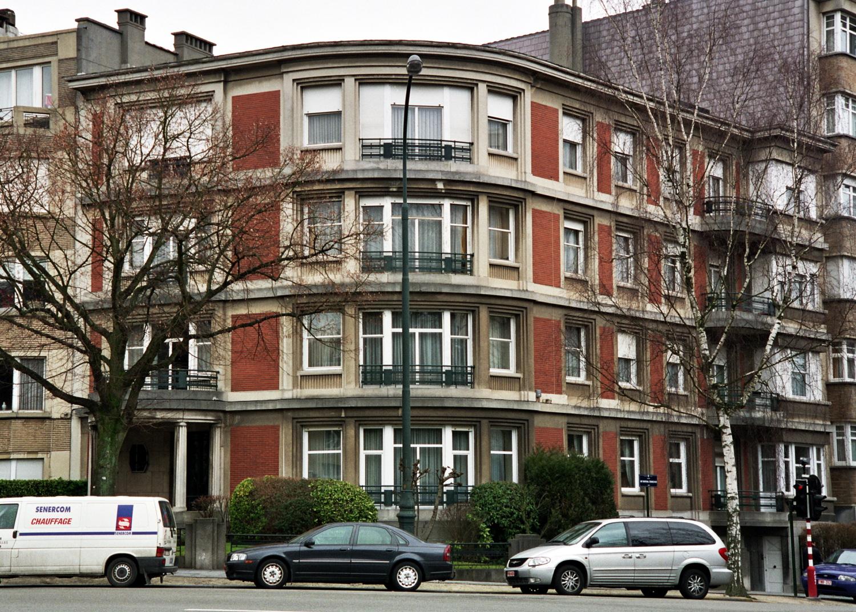 Avenue Franklin Roosevelt 132, vue de biais., 2006