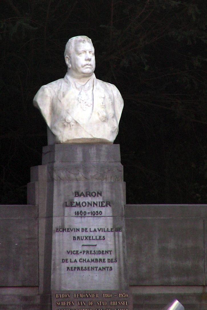 Baron Maurice Lemonnier (1932), sculpteur Frans HUYGELEN., 2007