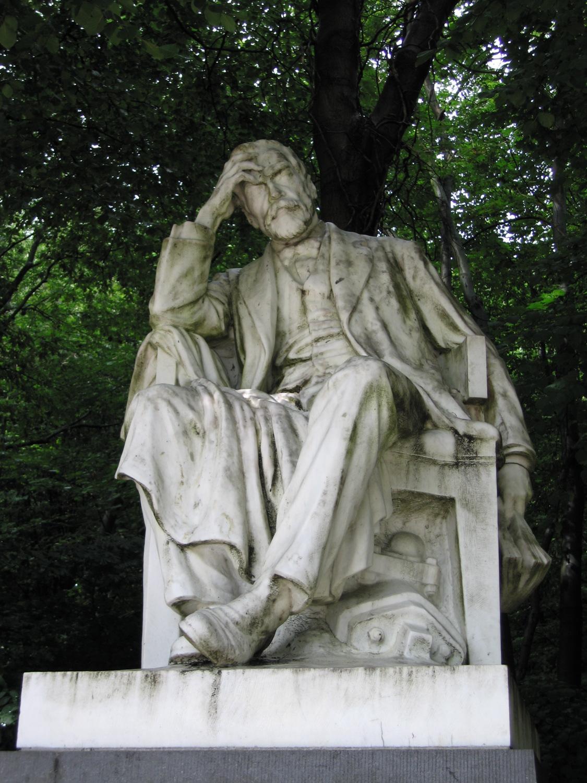 Ernest Solvay (1932), beeldhouwer Égide ROMBAUX., 2006