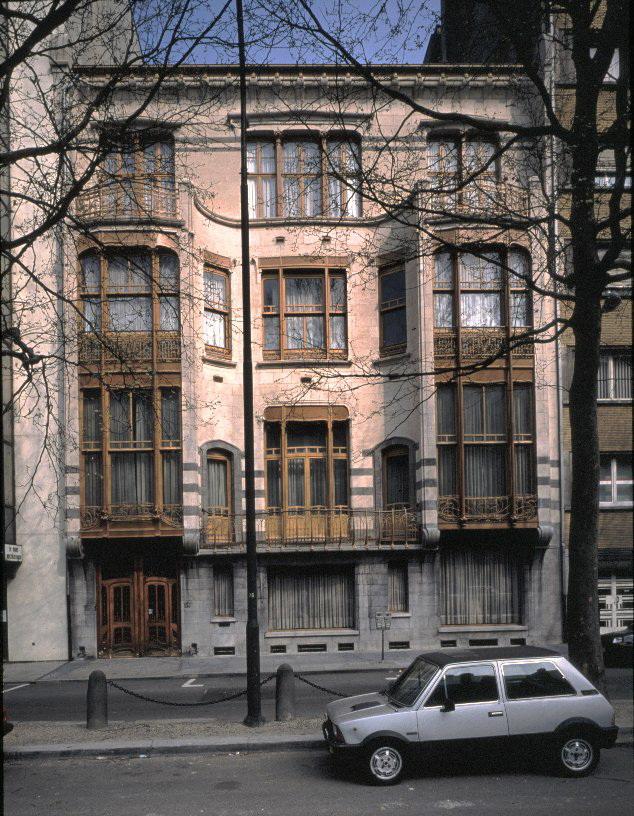 Avenue Louise 224, hôtel Solvay (photo Bastin & Evrard   MRBC).