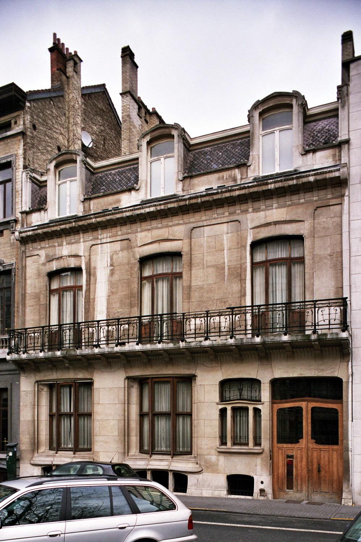 Louizalaan 346, huis Max Hallet., 2005