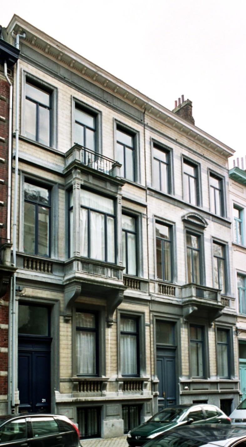 Rue Africaine 21 et 19., 2004