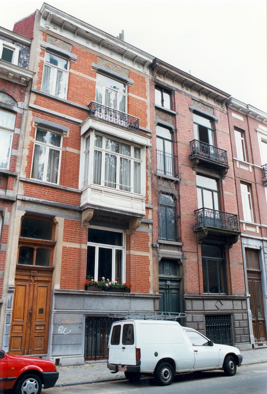 Rue Africaine 32 et 34., 1998