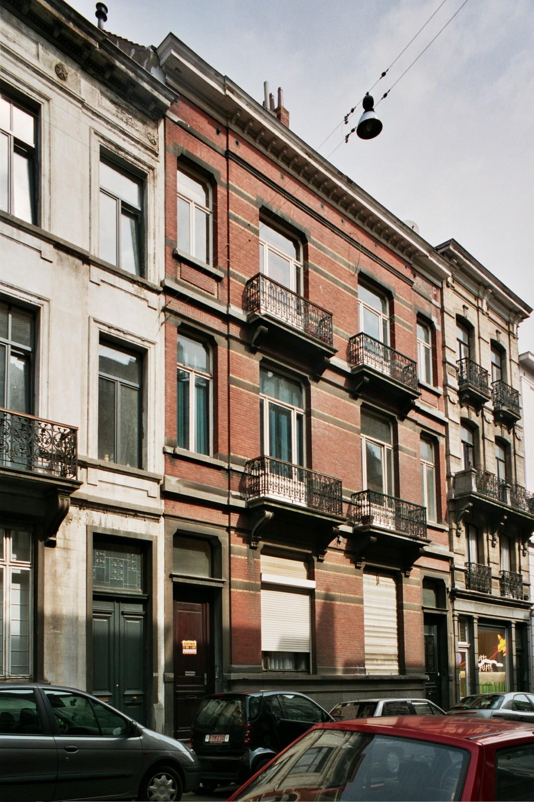 Rue Africaine 82 et 84., 2004