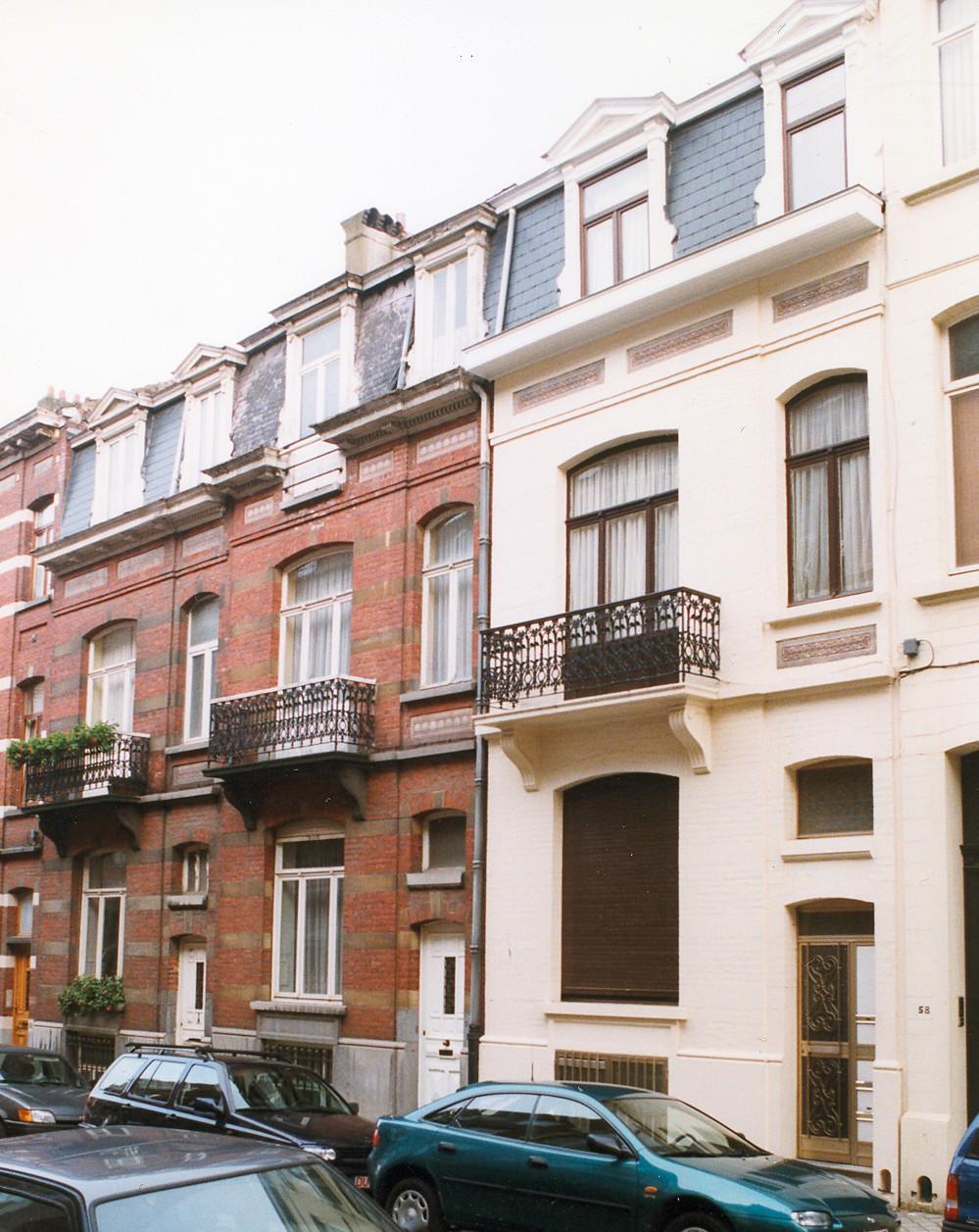 Rue d\'Albanie 52, 54 et 56., 1999