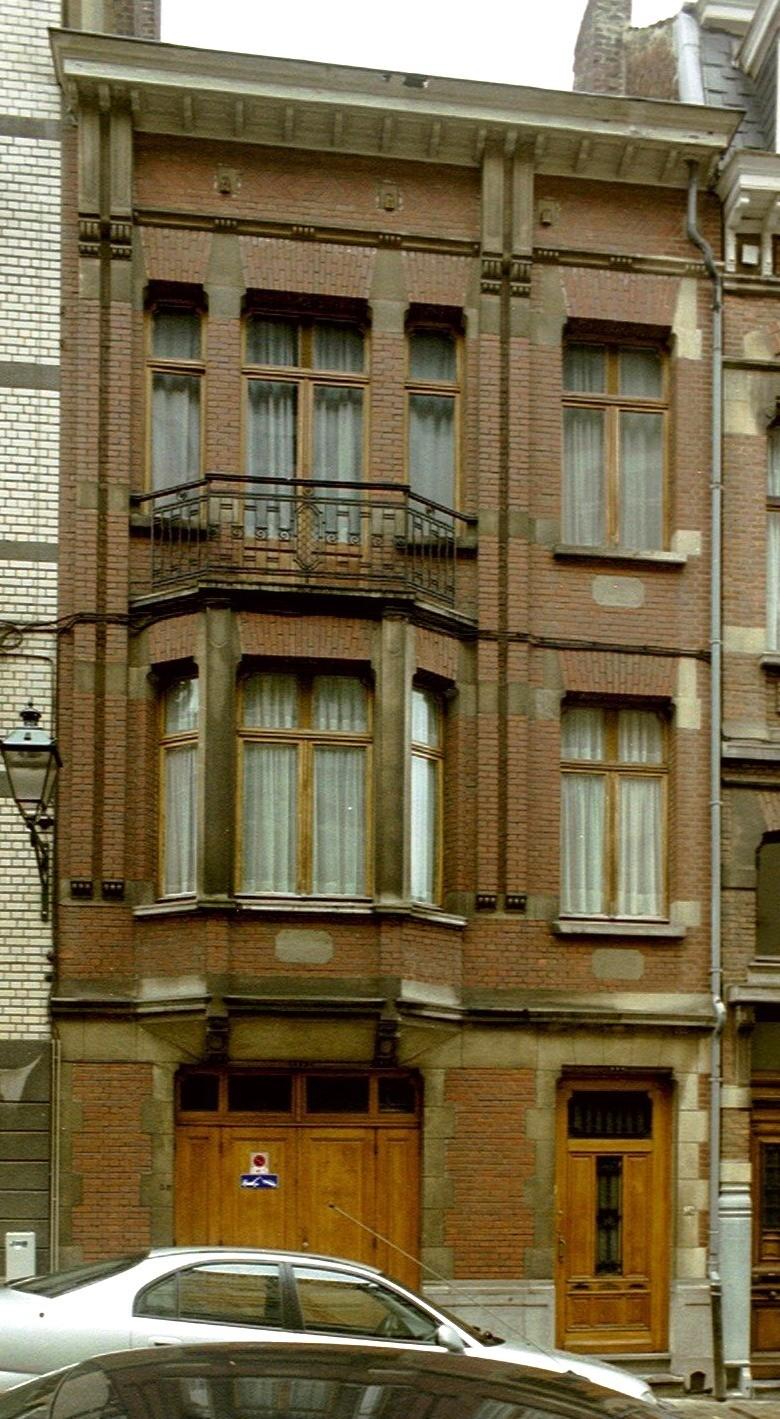 Rue Alfred Cluysenaer 38., 2004