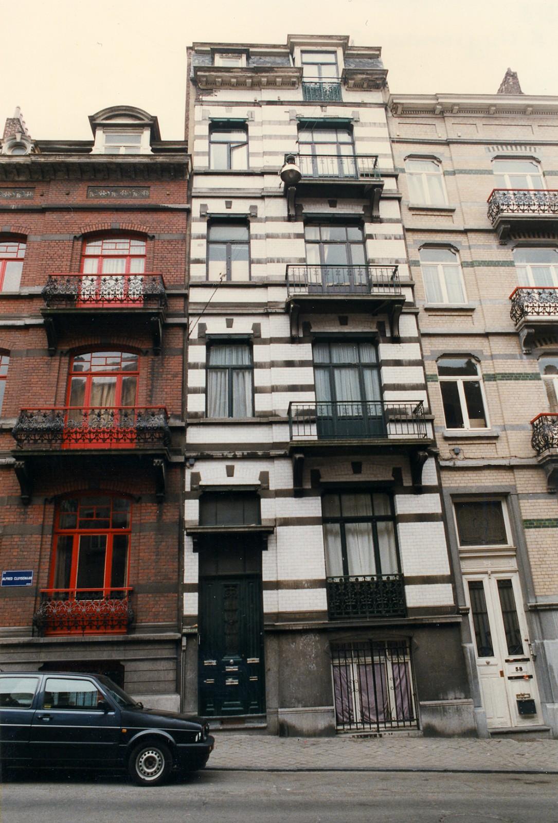 Rue Alfred Cluysenaer 56., 1996