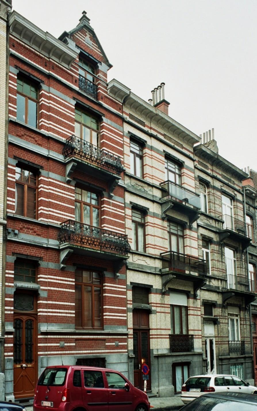 Alfred Cluysenaerstraat 64, 66 en 68., 2004