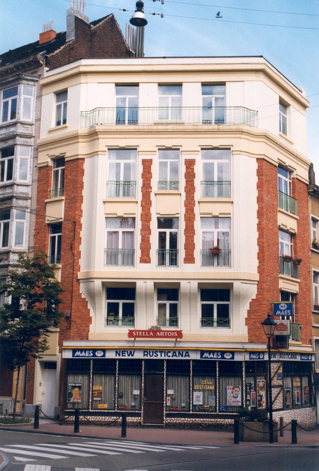 Rue de Savoie 65 et chaussée d'Alsemberg 97., 1999