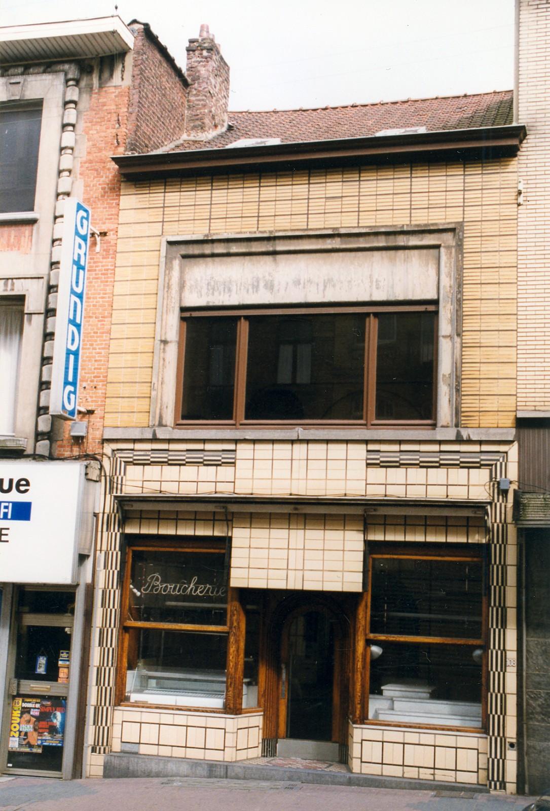 Chaussée d\'Alsemberg 108., 1999