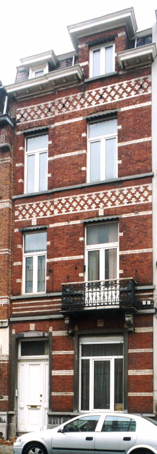 Rue Antoine Bréart 119., 2003