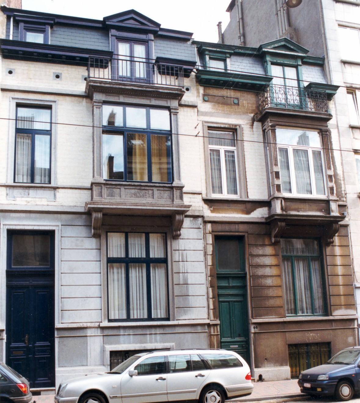 Rue de l'Aqueduc 44, 46., 1998