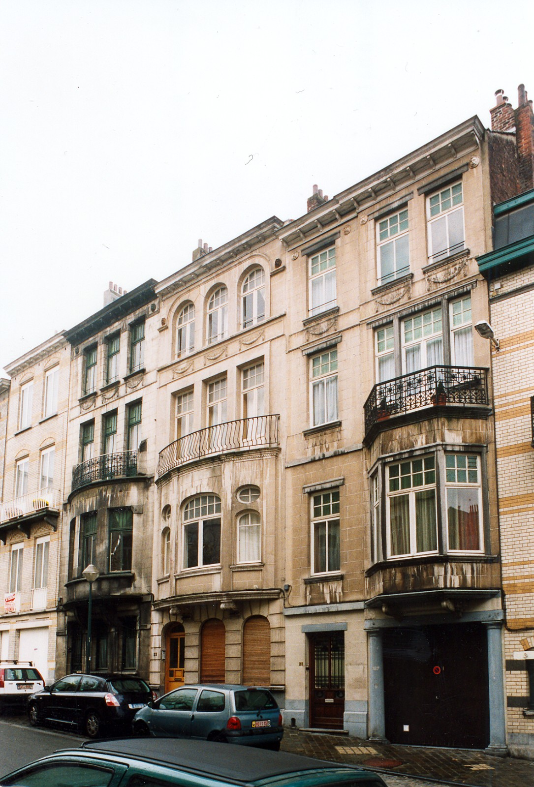 Rue Arthur Diderich 25, 23 et 21., 2003