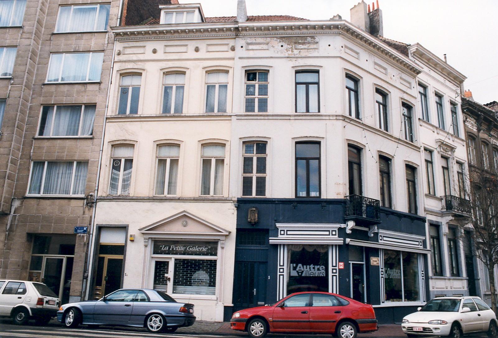 Rue de Livourne 1-1a et rue Berckmans 2., 1999
