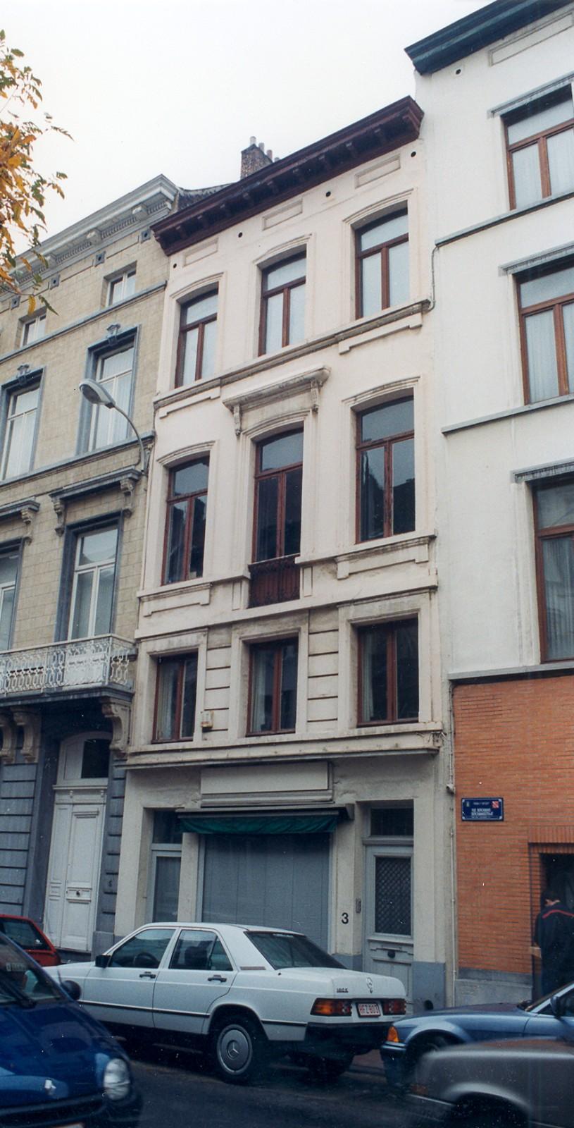 Berckmansstraat 3., 1999