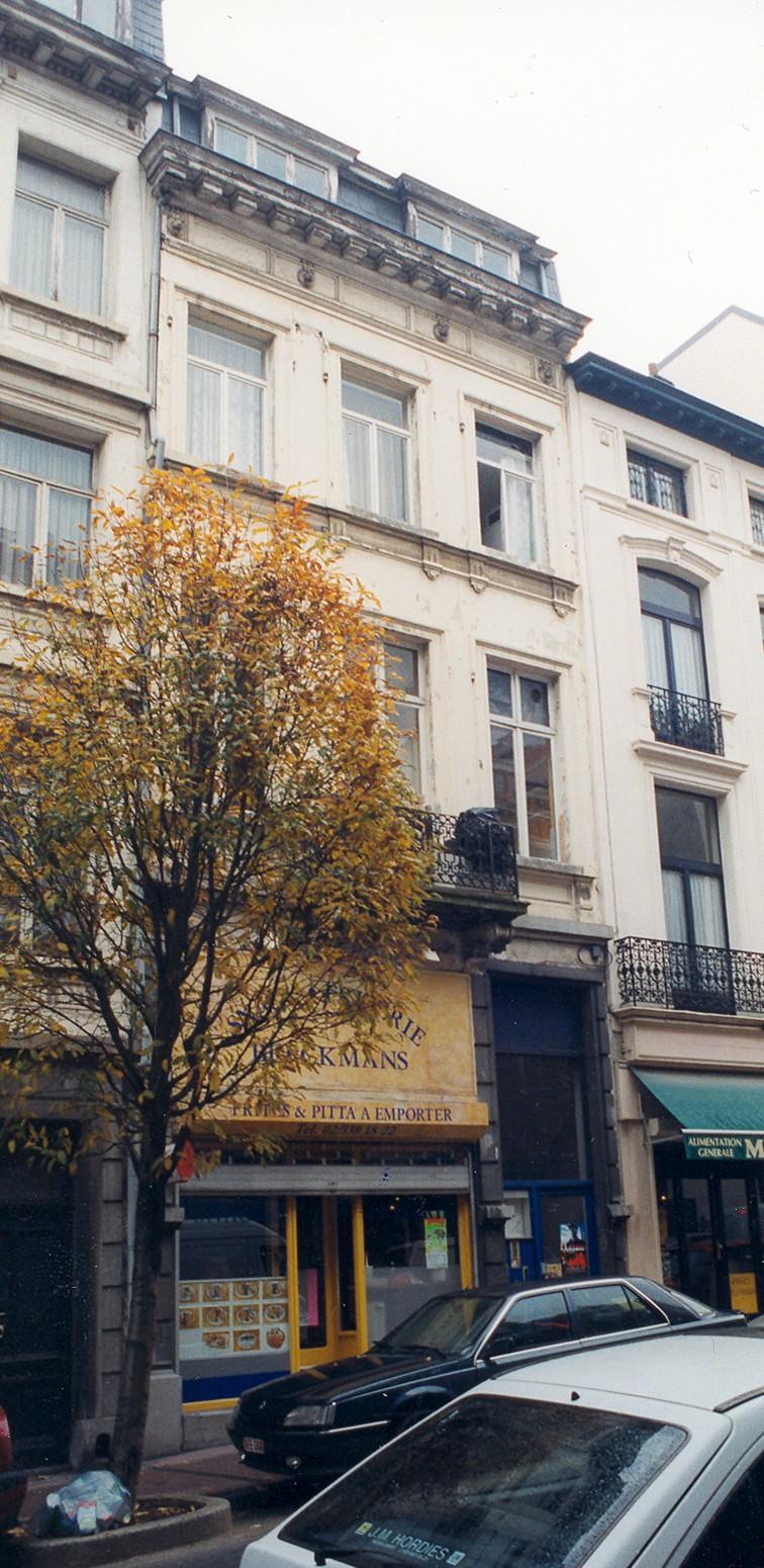 Berckmansstraat 25., 1999