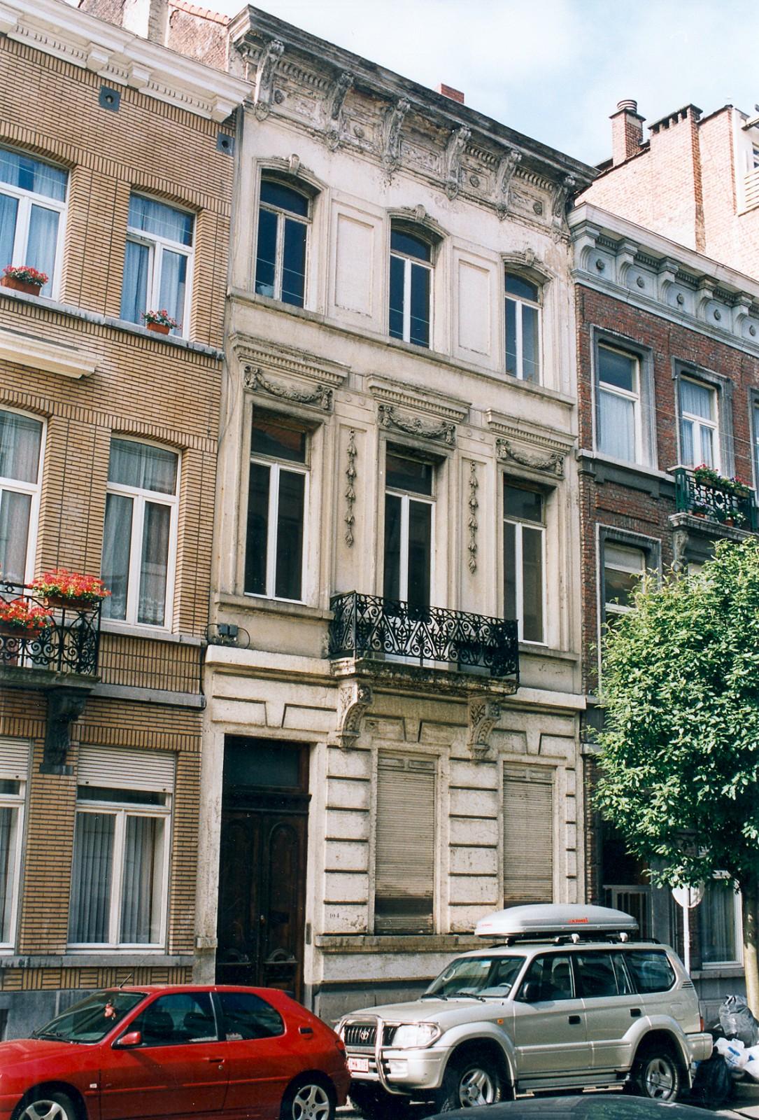 Rue Berckmans 104., 2003