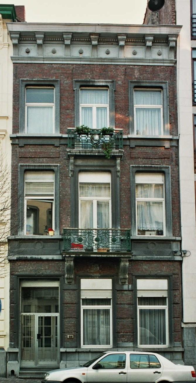 Rue Berckmans 106., s.d.