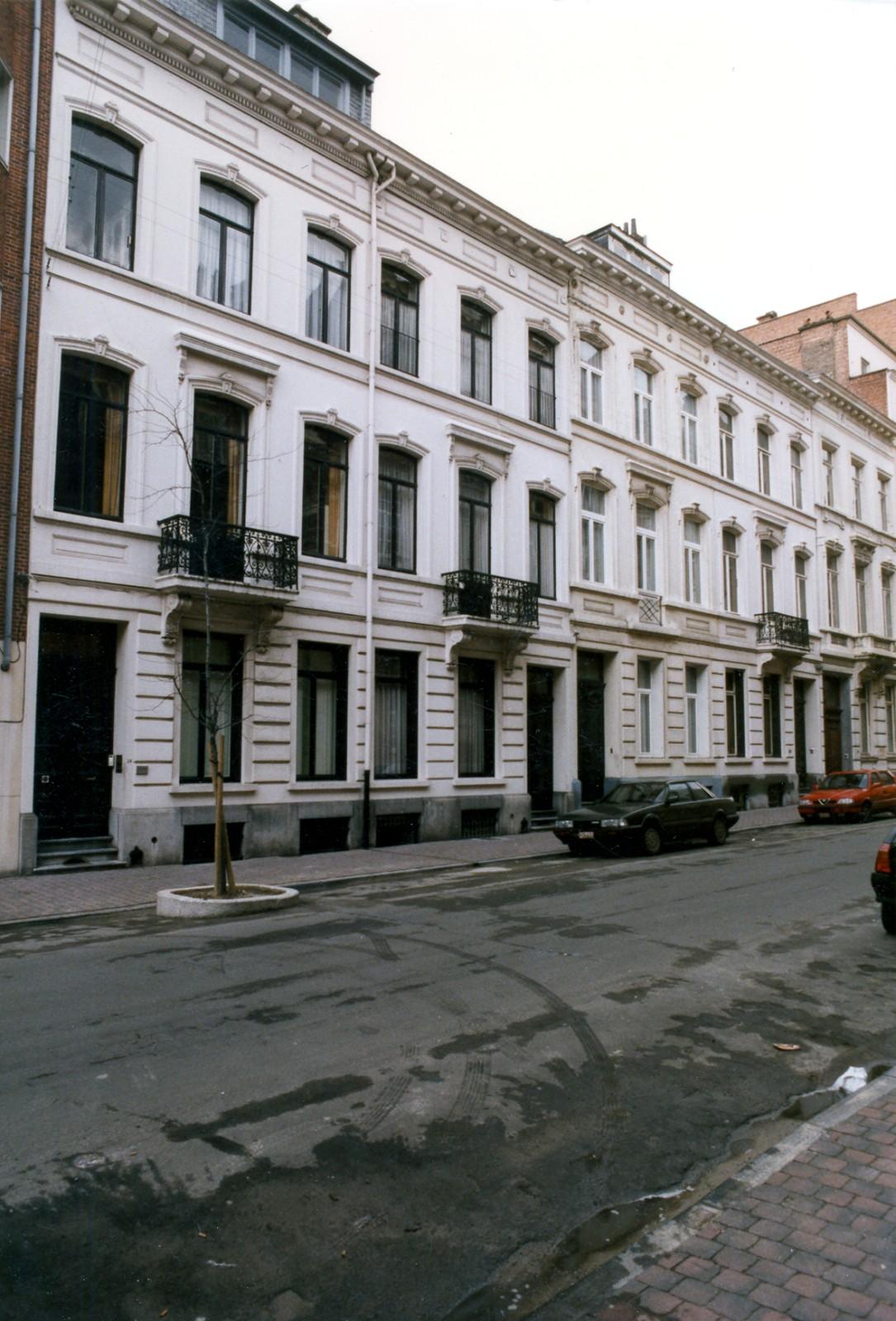 Rue Blanche 24, 26, 28 et 30., 1996