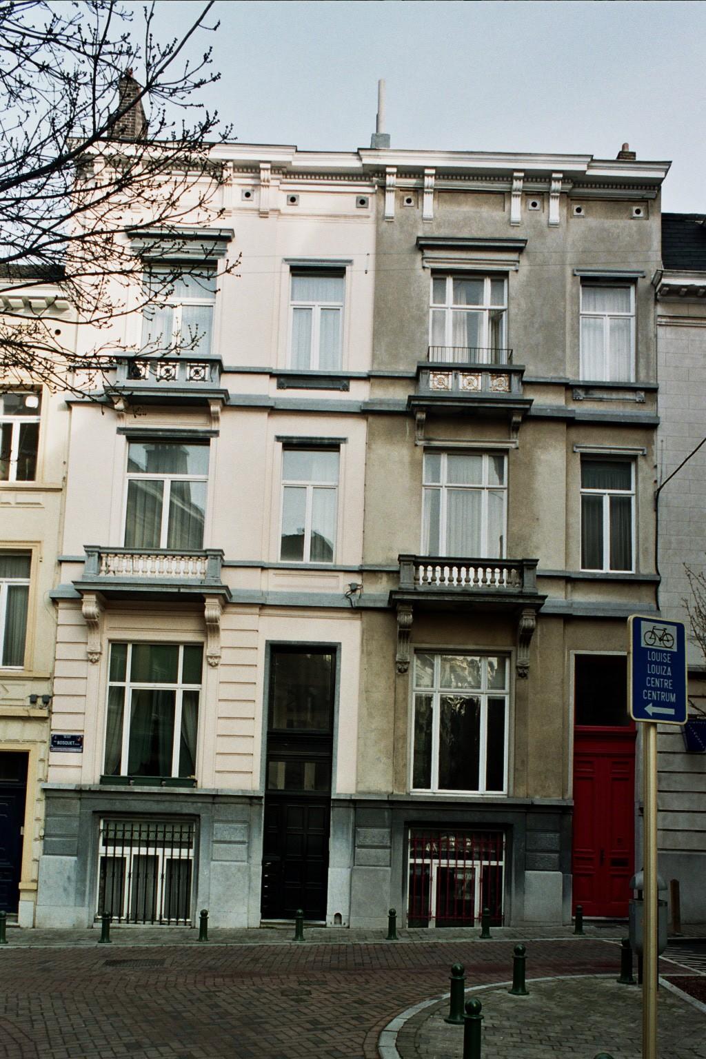 Rue Bosquet 27 et 25., 2004