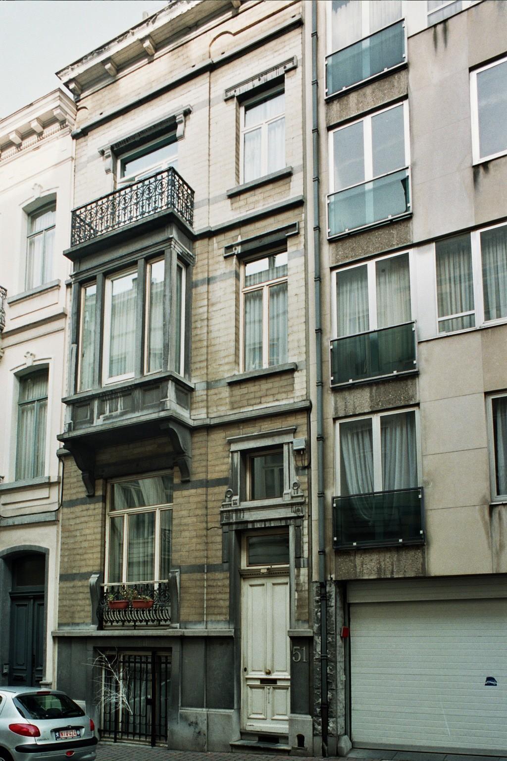 Rue Bosquet 51., 2004