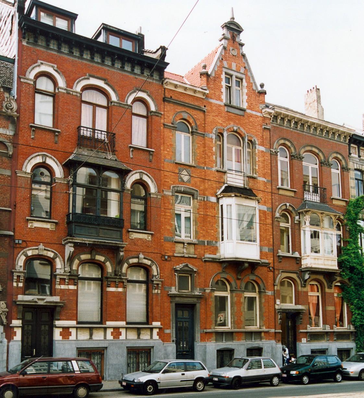 Avenue Brugmann 47, 45 et 43., 2003