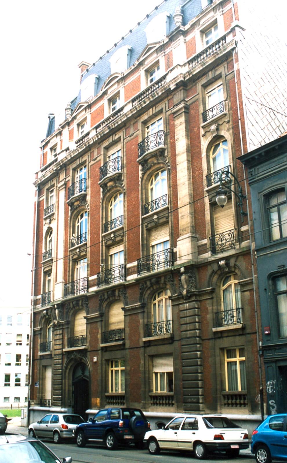Chaussée de Charleroi 70., 2003