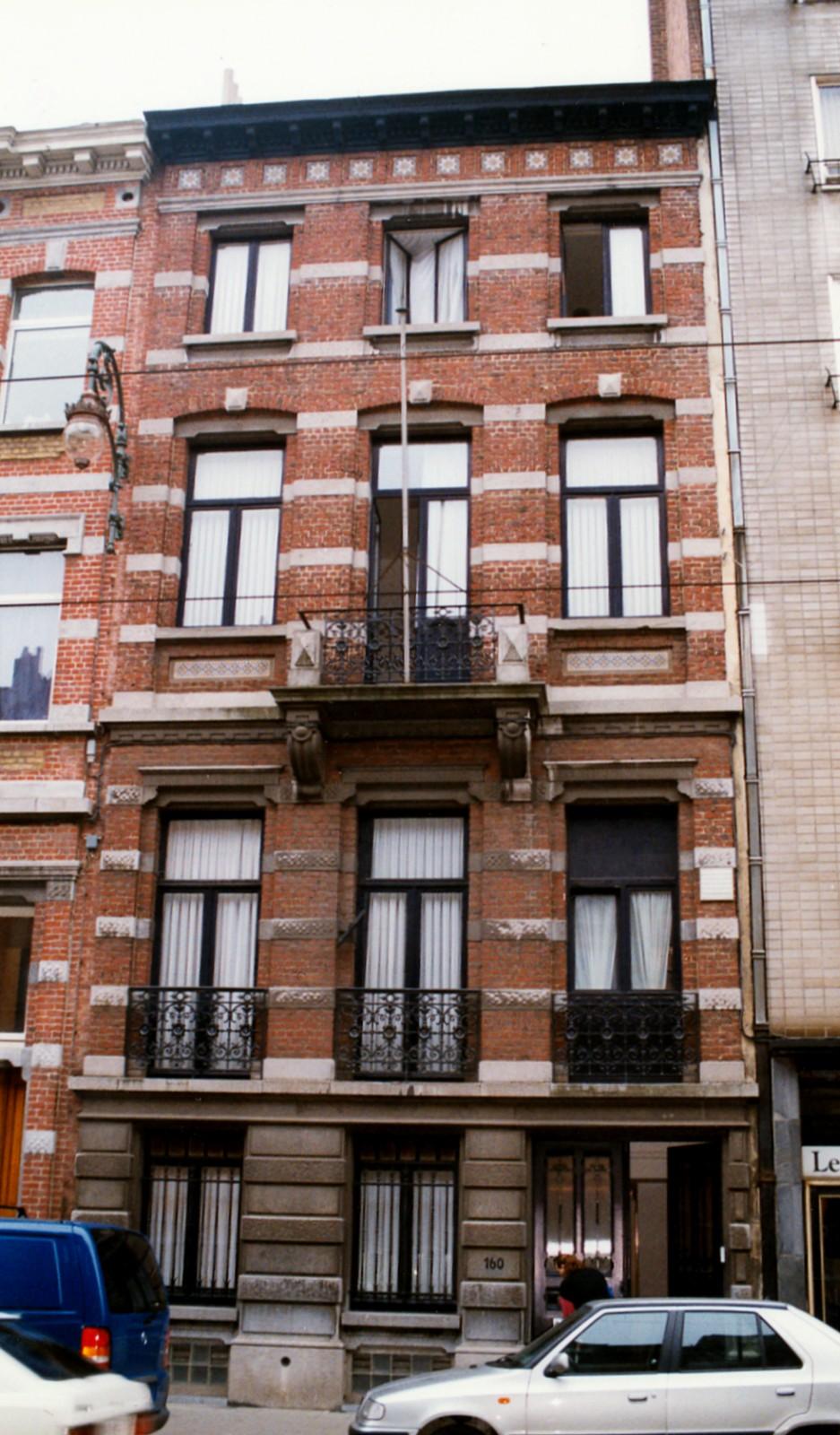 Chaussée de Charleroi 160., 1998