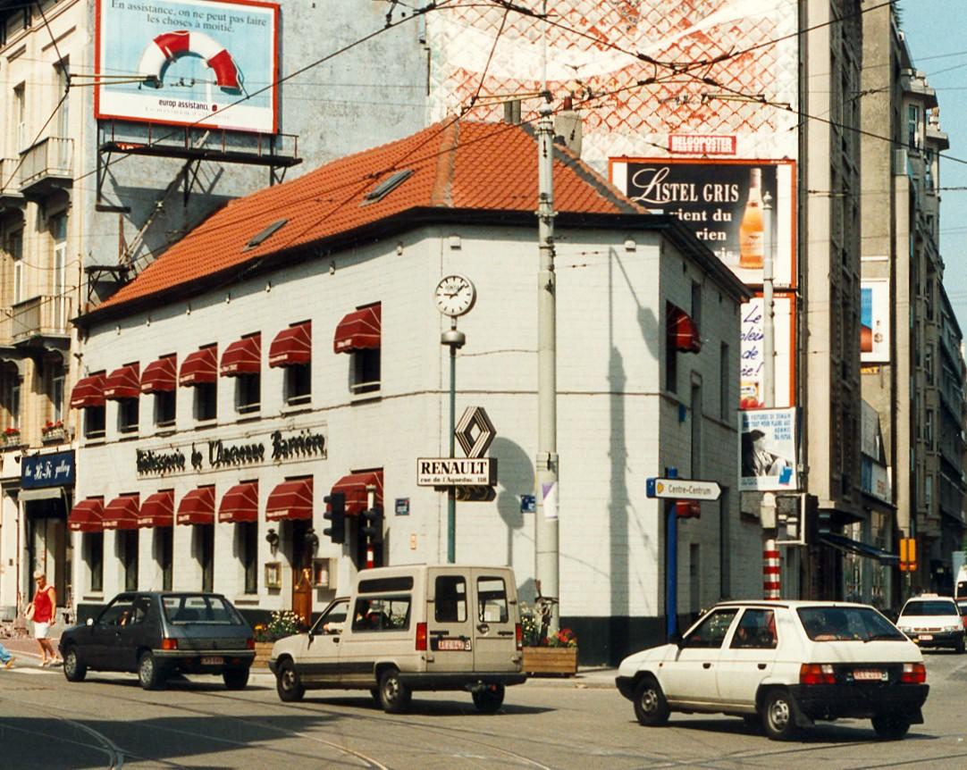 Chaussée de Charleroi 172 et rue Defacqz 141, anc. Rôtisserie de l'ancienne Barrière., 1997