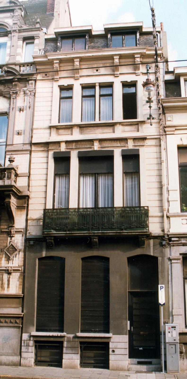 Chaussée de Charleroi 206., 1998