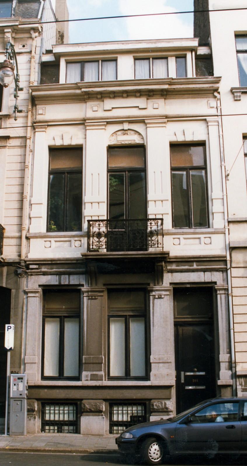 Chaussée de Charleroi 208., 1998