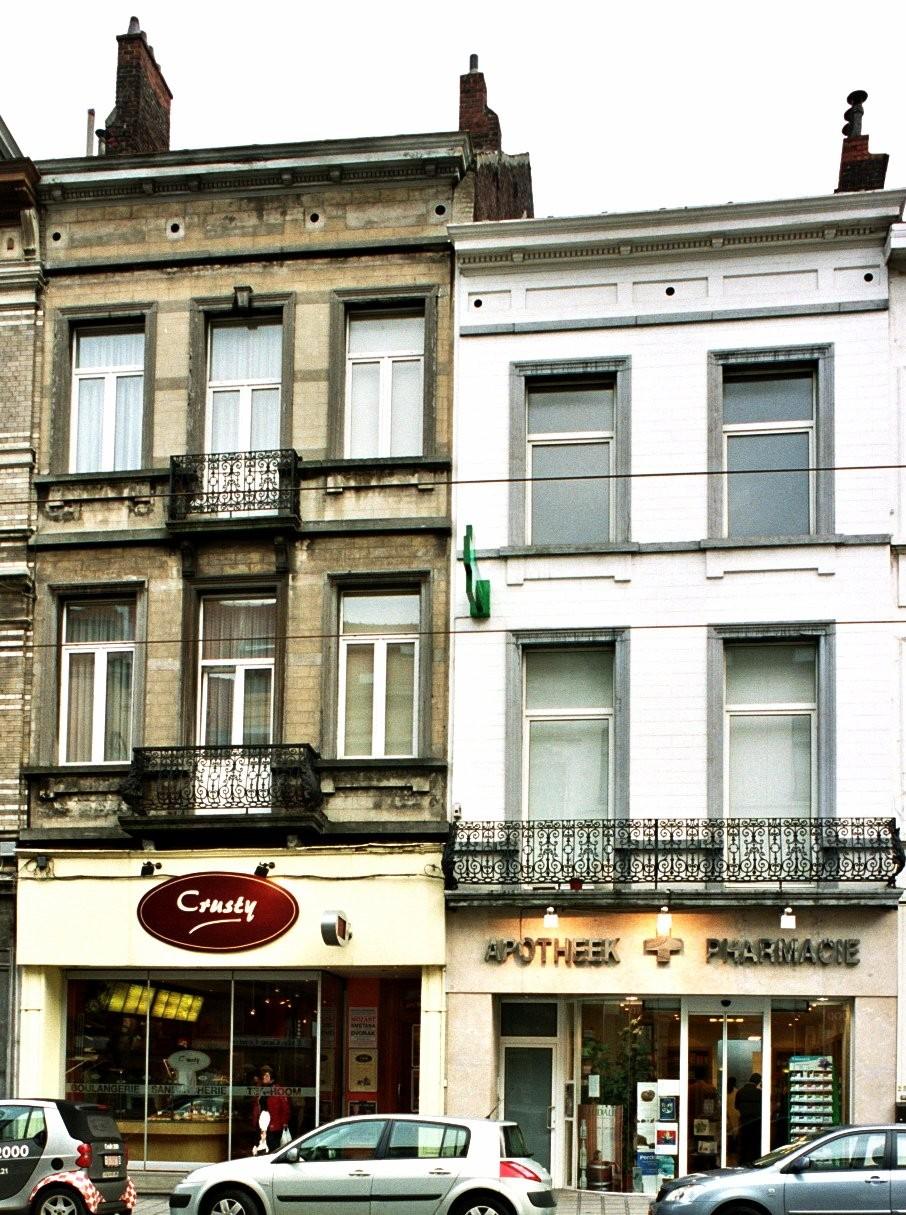 Chaussée de Charleroi 250, 252., 2004
