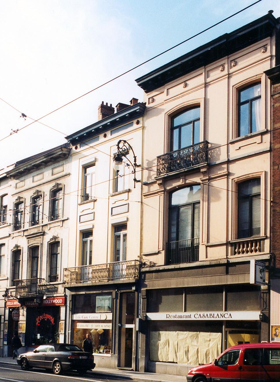 Chaussée de Charleroi 281, 279 et 277., 2003