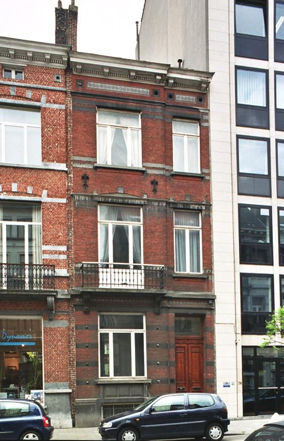 Rue Defacqz 76., 2004