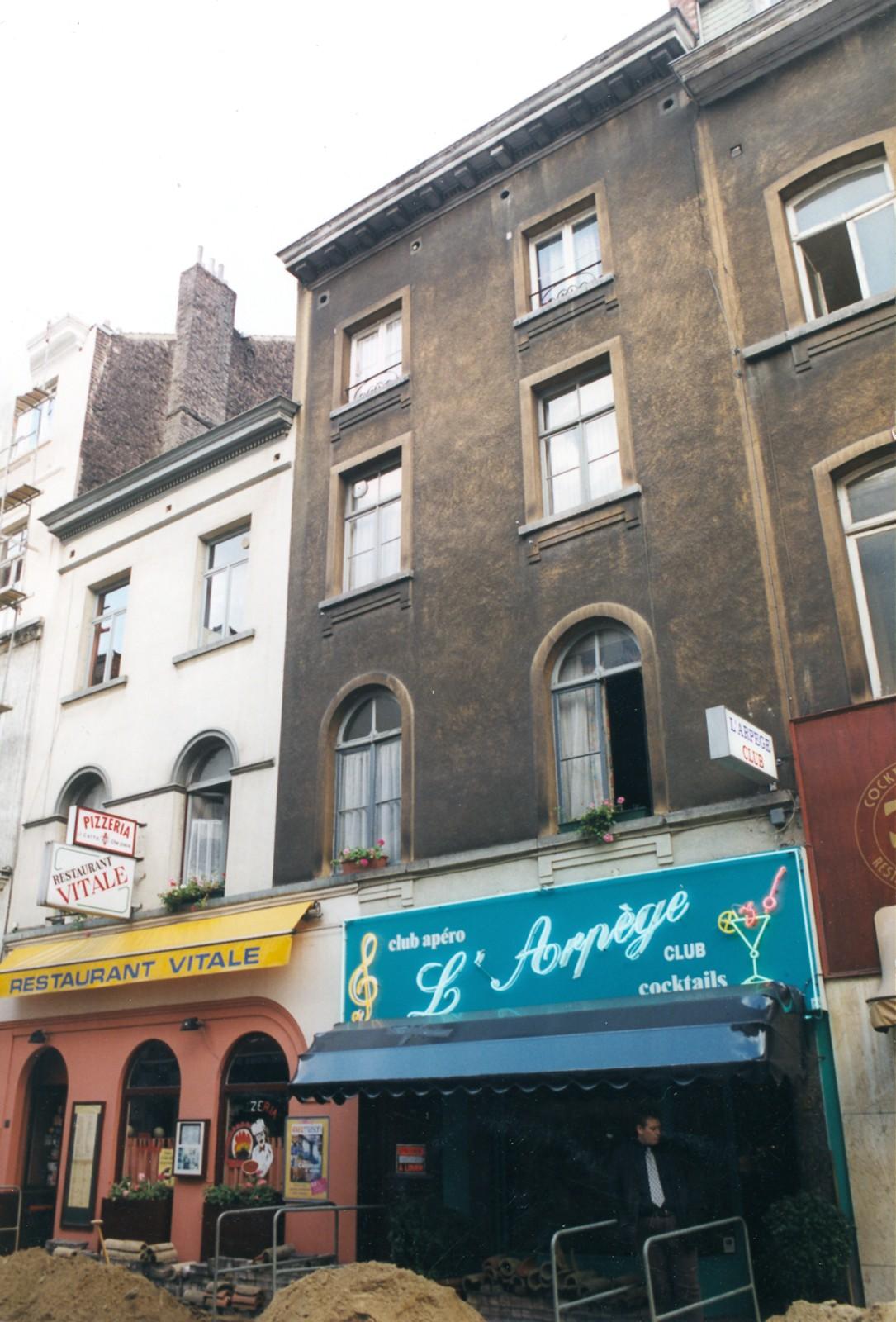Rue Dejoncker 21 et 19 (photo s.d.)