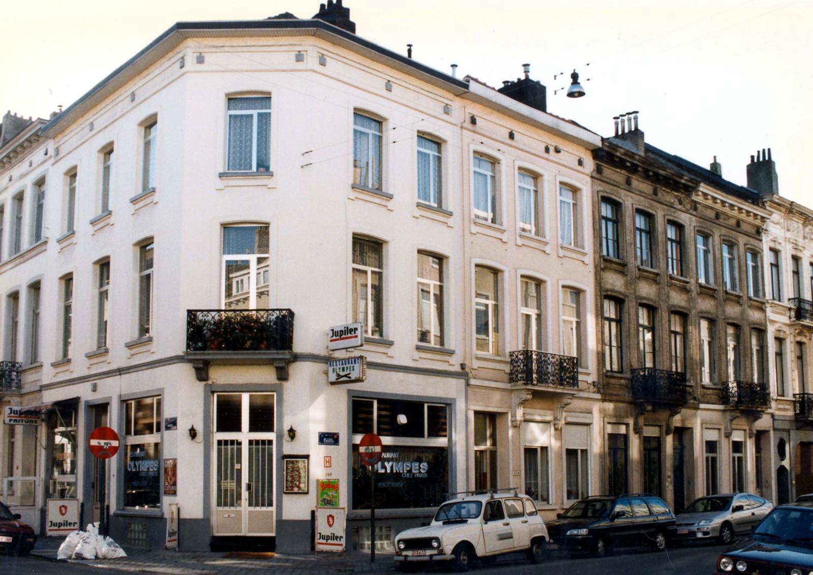 Rue Joseph Coenraets 29 et rue de Mérode 136, 138, 140 et 142., 1997