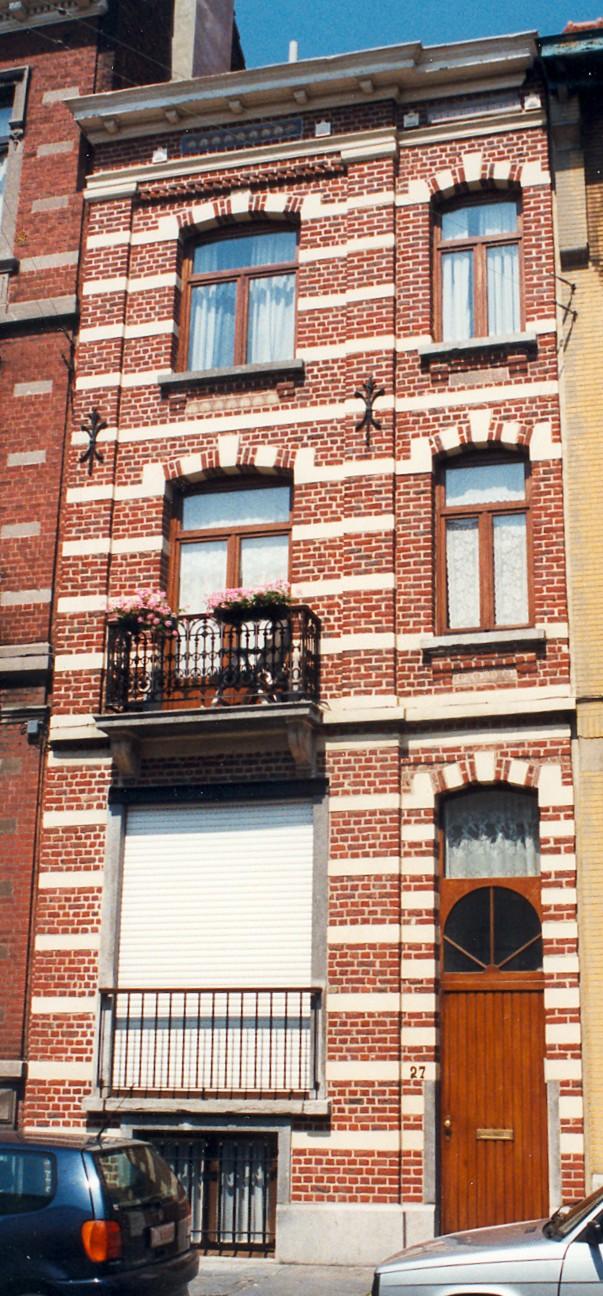 Avenue Édouard Ducpétiaux 27., 1998