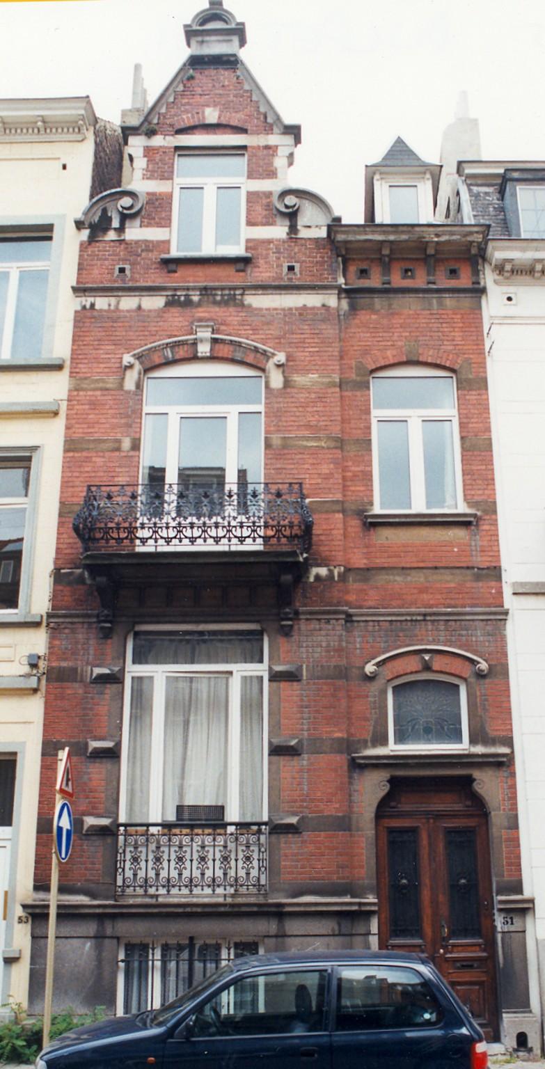 Avenue Édouard Ducpétiaux 51., 1998
