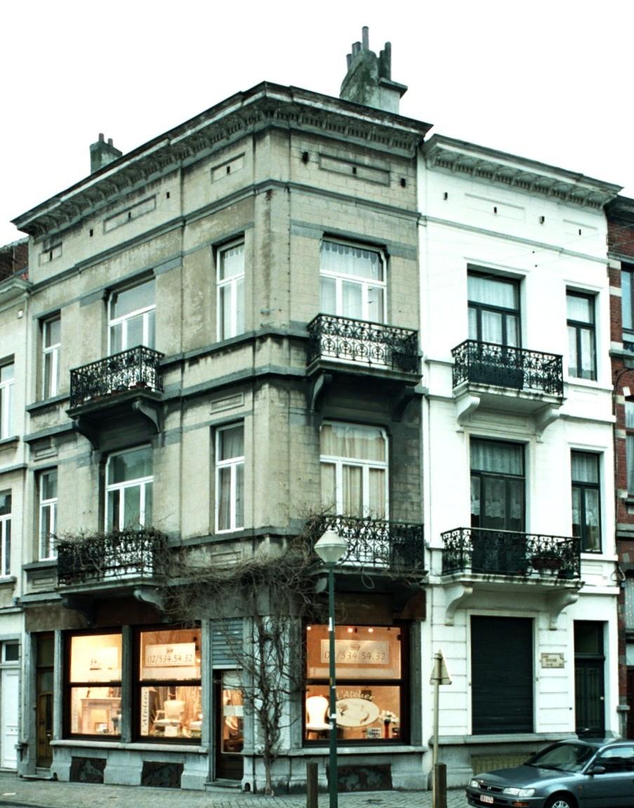 Avenue Édouard Ducpétiaux 77 et rue de Lombardie 62., 1998