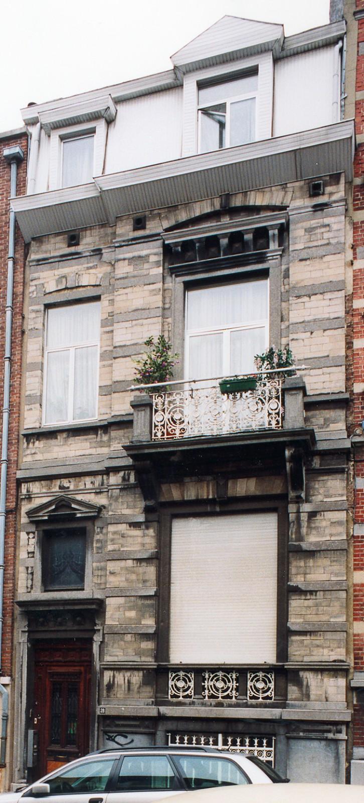 Rue des Etudiants 28., 2003