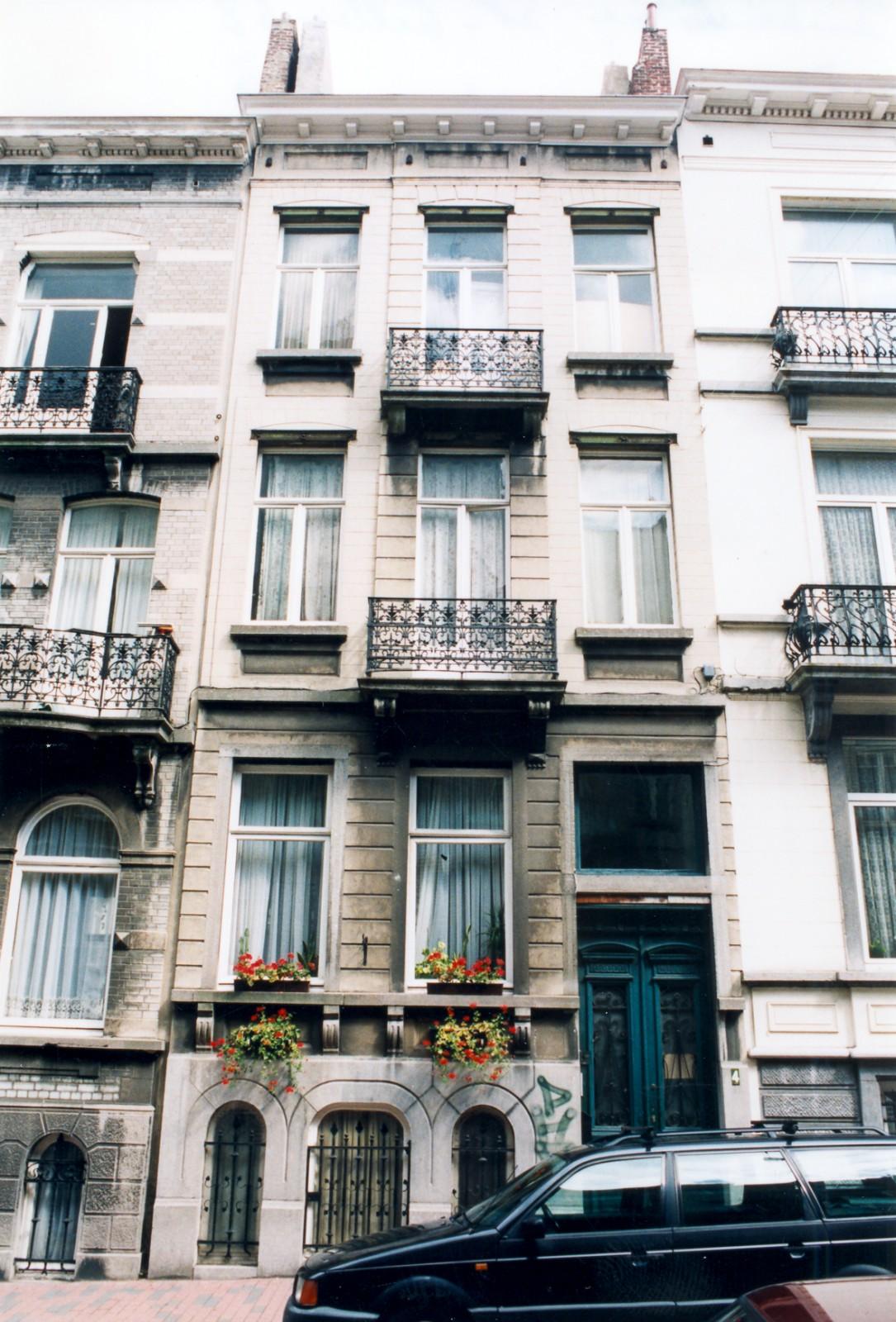 Rue Eugène Verheggen 4., 2003