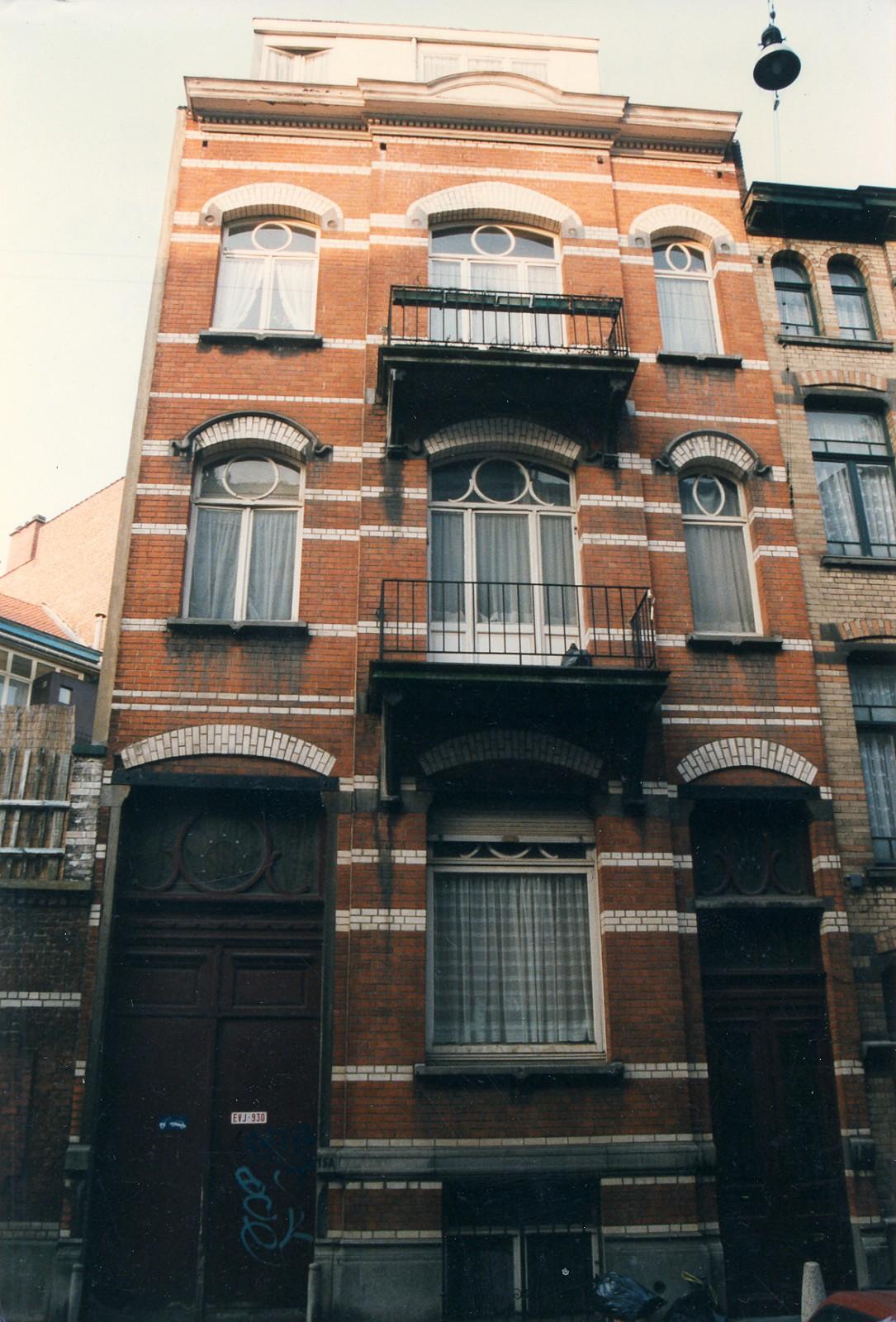 Eugène Verheggenstraat 15., 1996